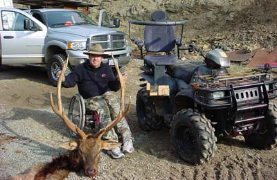 Elk hunting for physically challenged